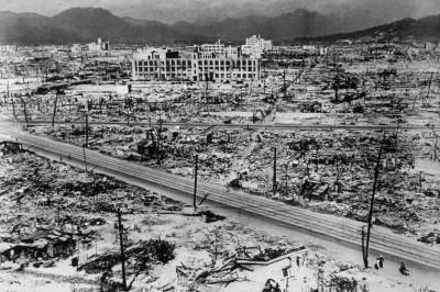 hiroshima damage