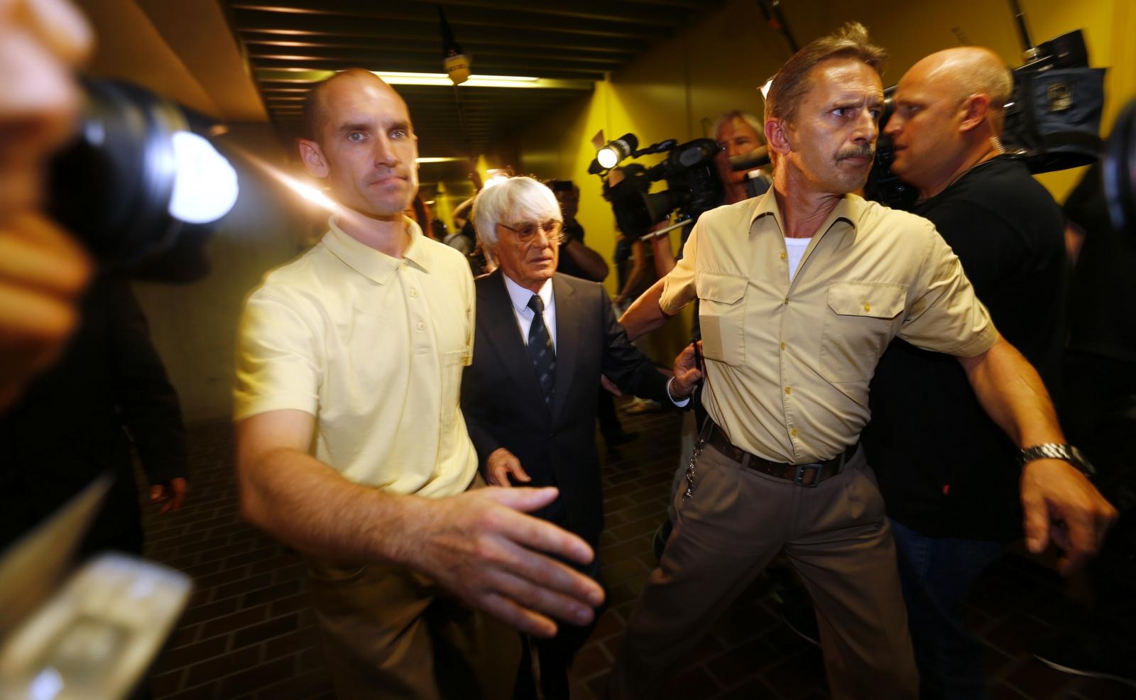 F1 Boss Bernie Ecclestone Pays $100m to End Bribery Trial
