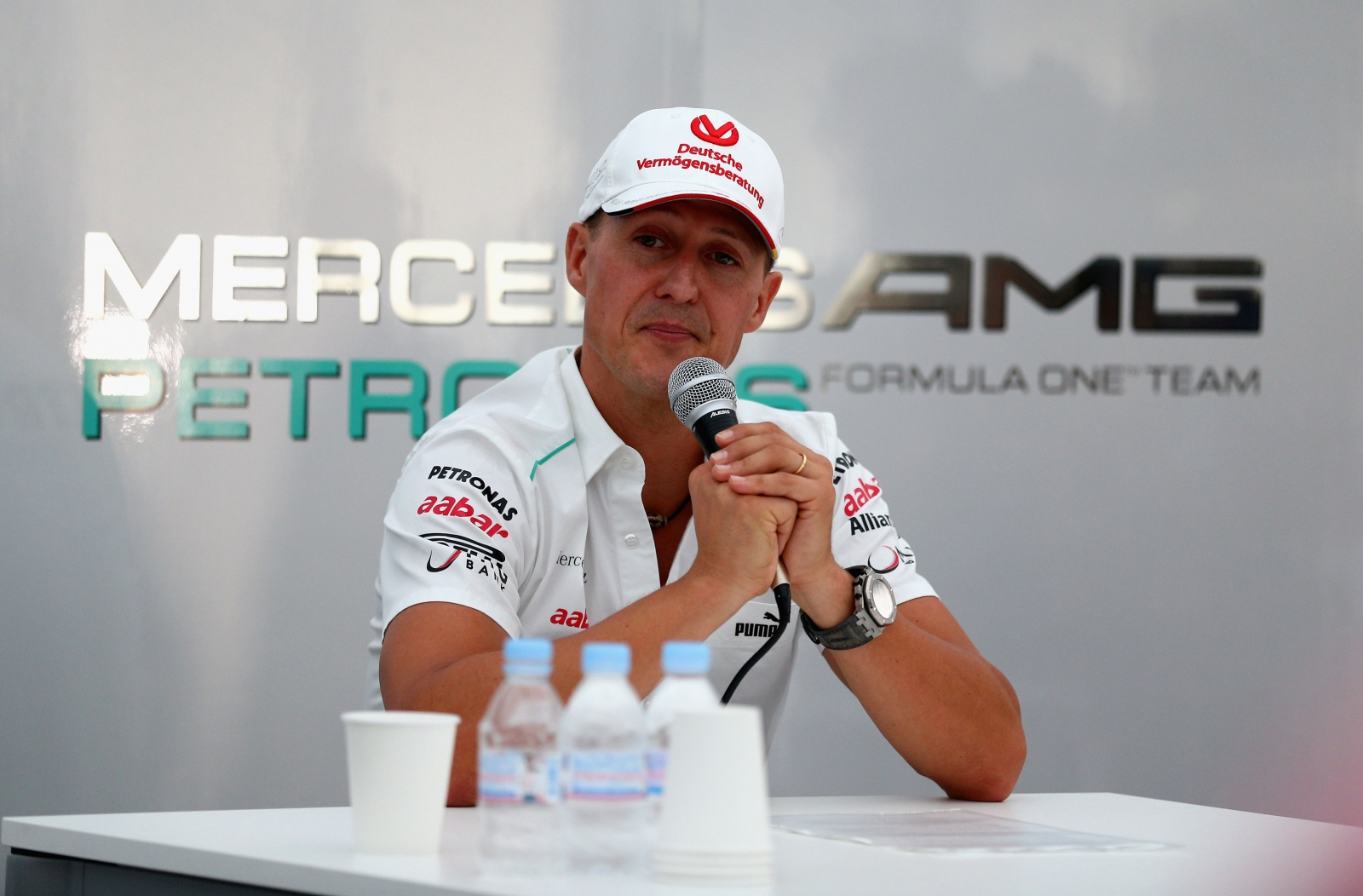 Michael Schumacher remains brand ambassador for Mercedes Benz while he recovers from ski crash injuries