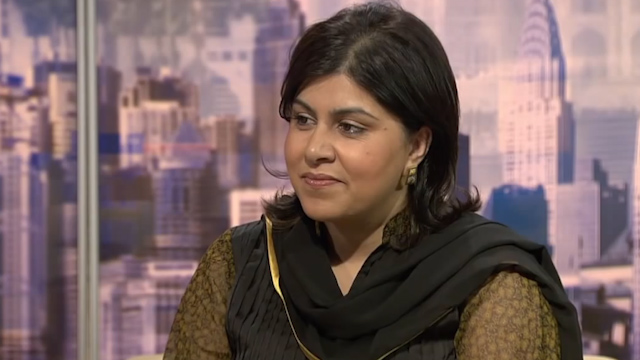 Foreign Office Minister Sayeeda Warsi
