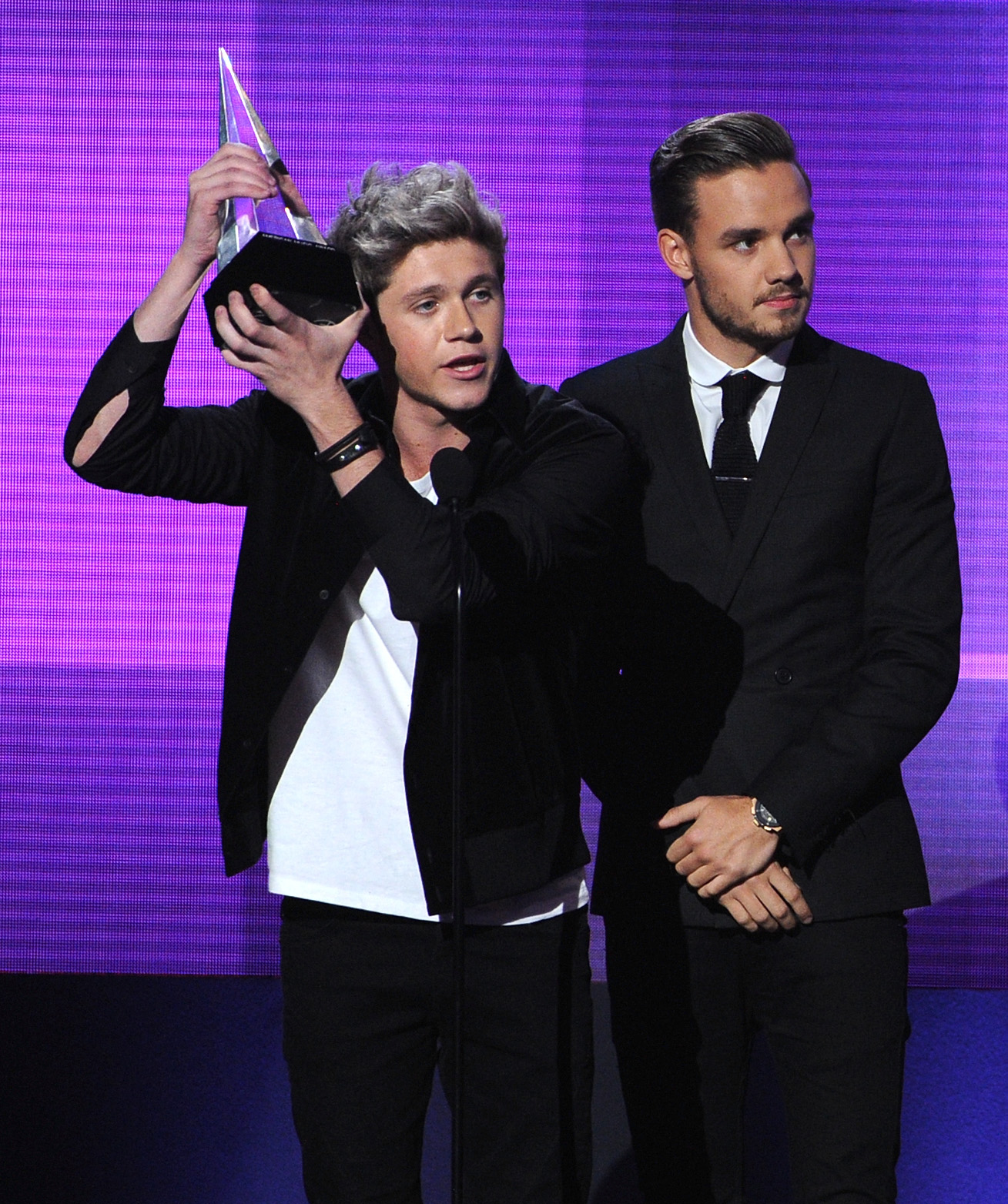 Niall Horan and Liam Payne of One Direction