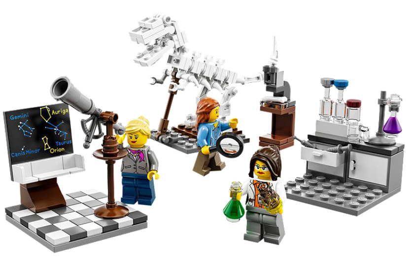 Lego the research institute