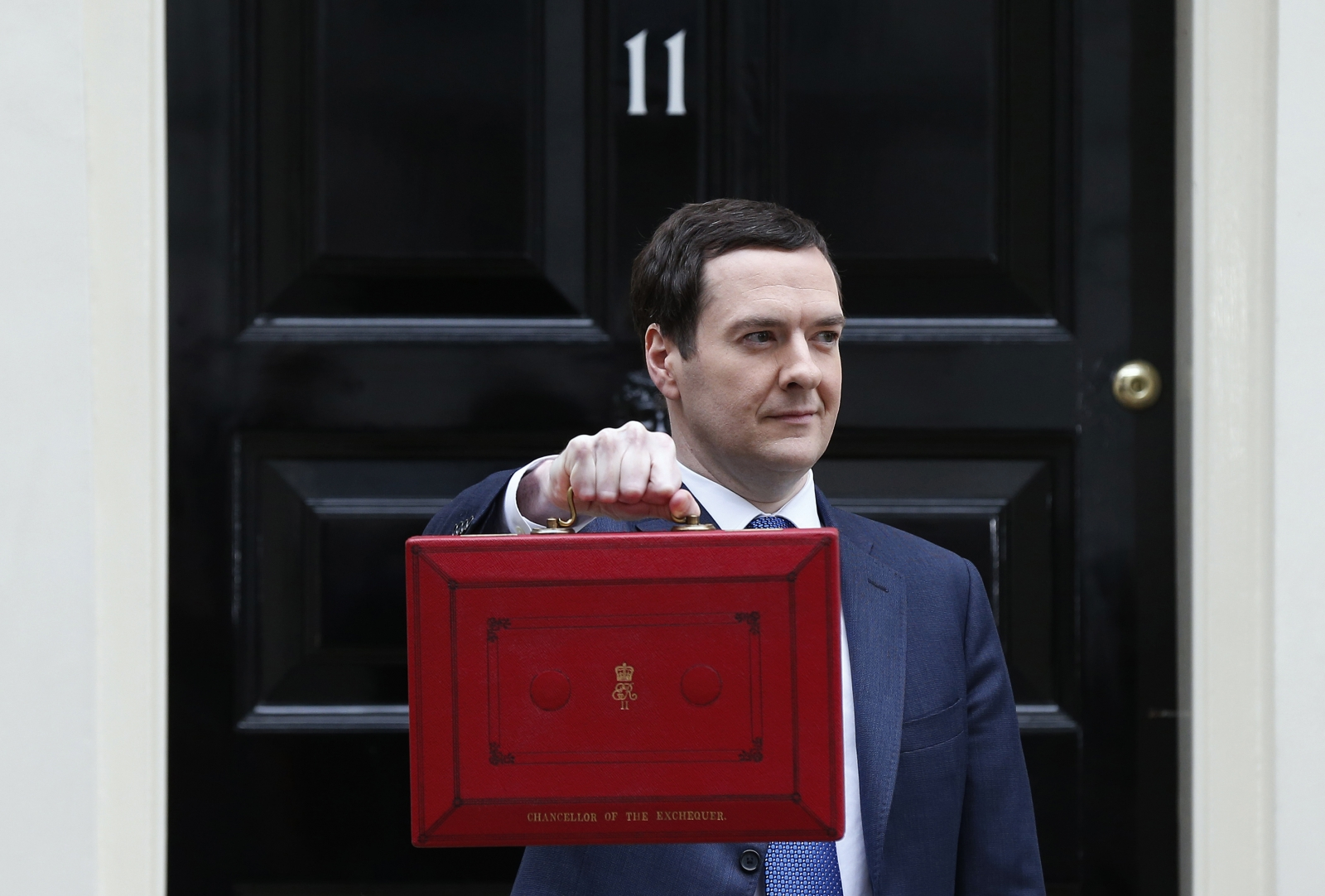 The Chancellor George Osborne and the 2014 Budget