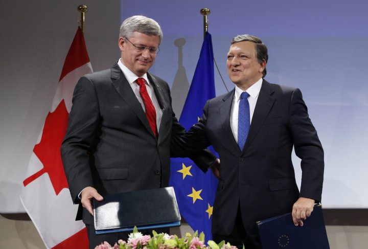 Eu Canadian Free Trade Agreement Close Despite Political And Public