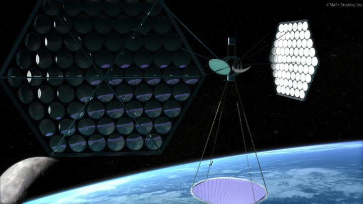 What if we could make solar power satellites cheap enough to launch into orbit?