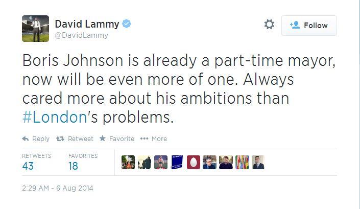 David Lammy twitter