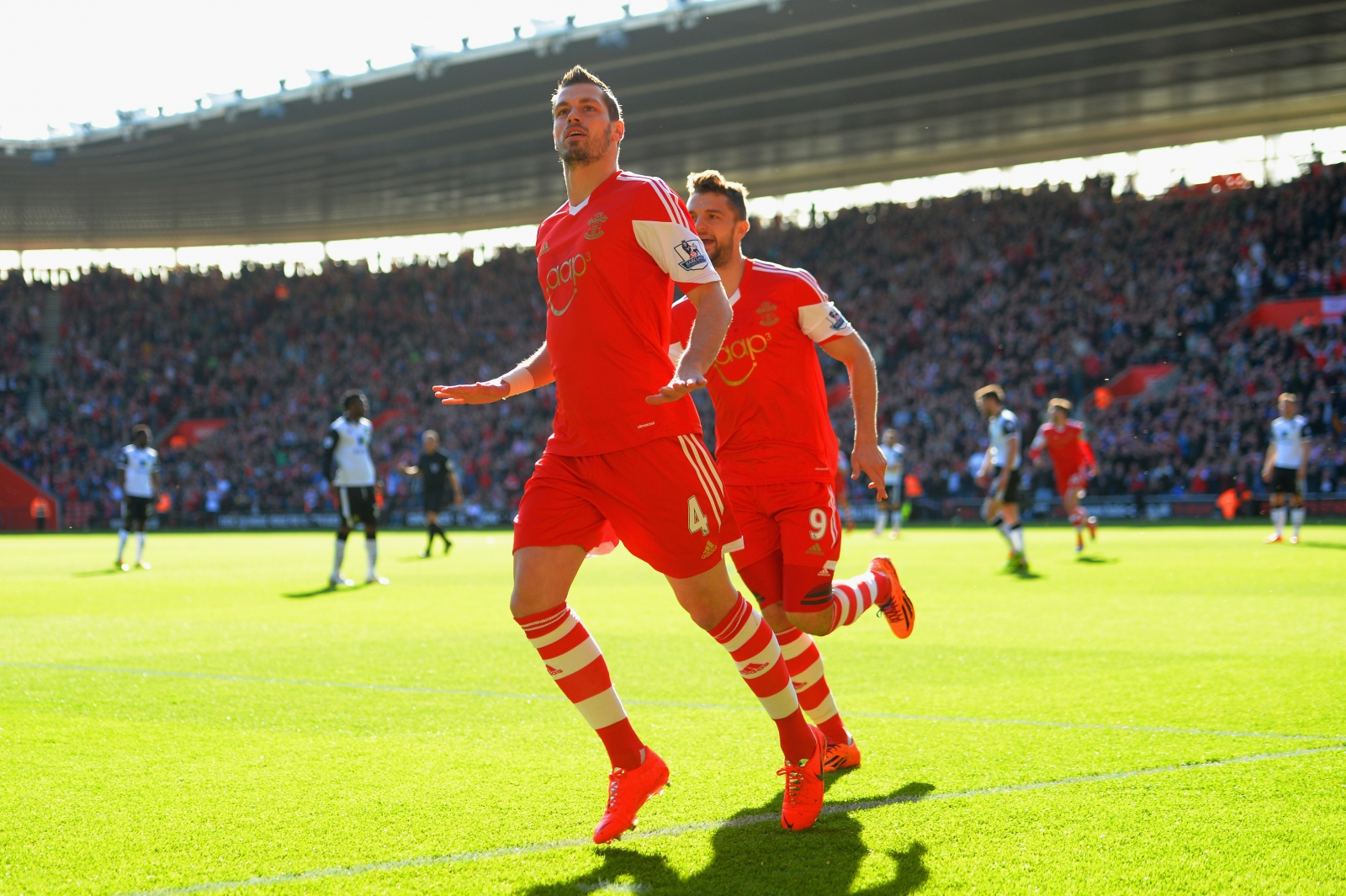 Jay Rodriguez and Morgan Schneiderlin