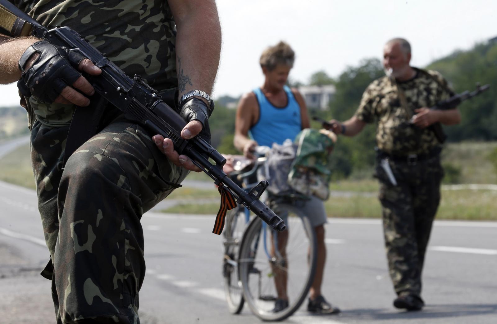 pro-Russian separatists Ukraine