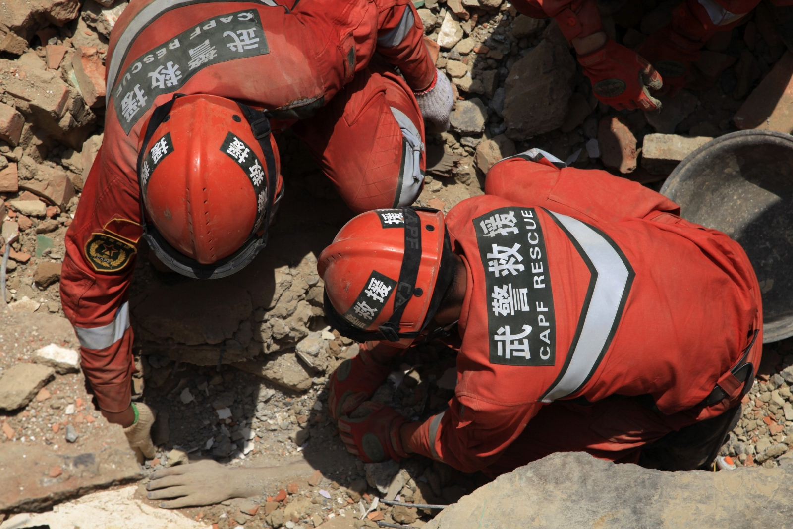 88 Year-Old Rescued after 50 hours in China Earthquake Rubble
