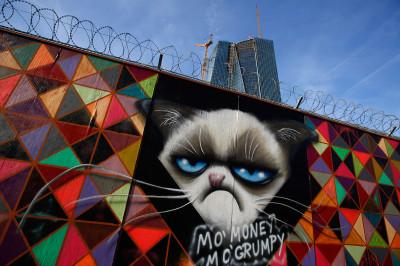 ECB graffiti