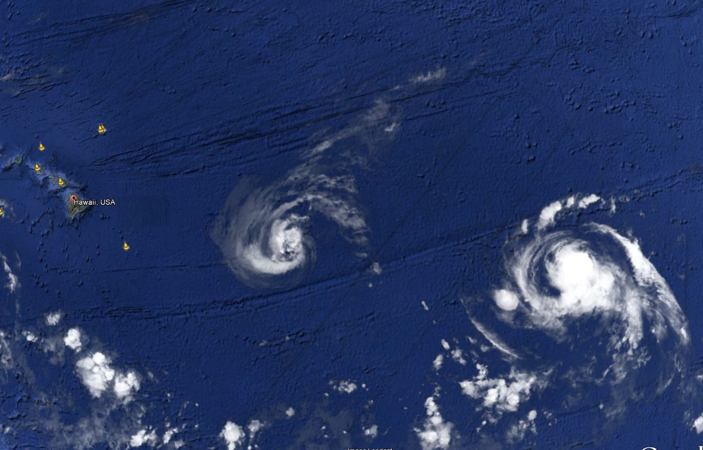 hurricane julio and iselle
