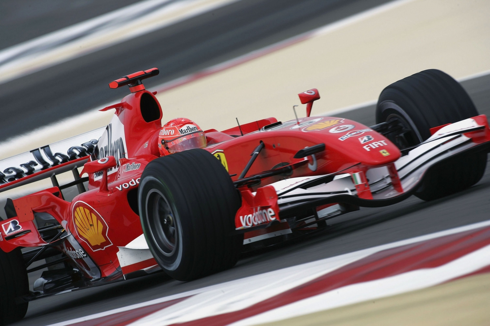 This Ferrari driven by Michael Schumacher in 2006 is up for sale for a cool $3.3m