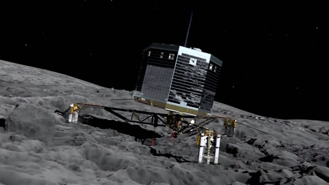 Spacecraft Rosetta Catches up to Comet after 10-Year-Chase