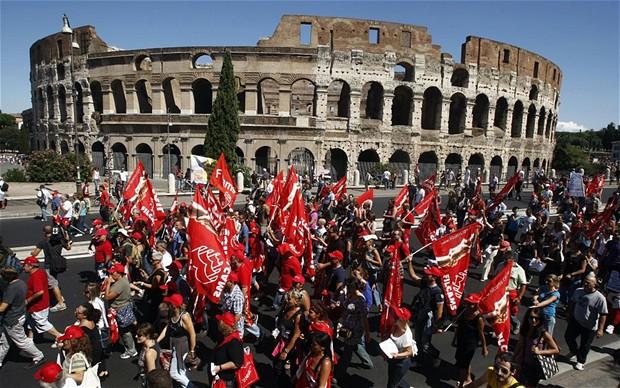 Italy's Economy Returns to Recession
