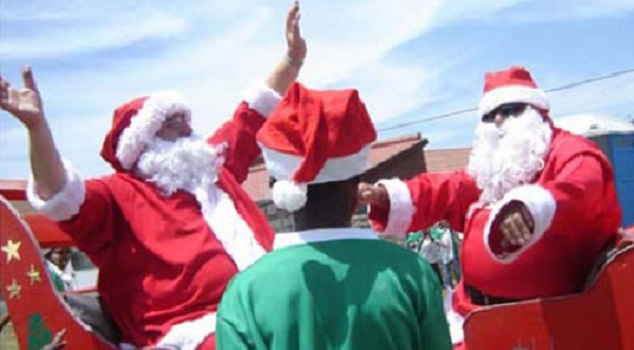 Christmas comes early in Joburg
