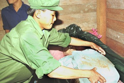 pol pot cremated