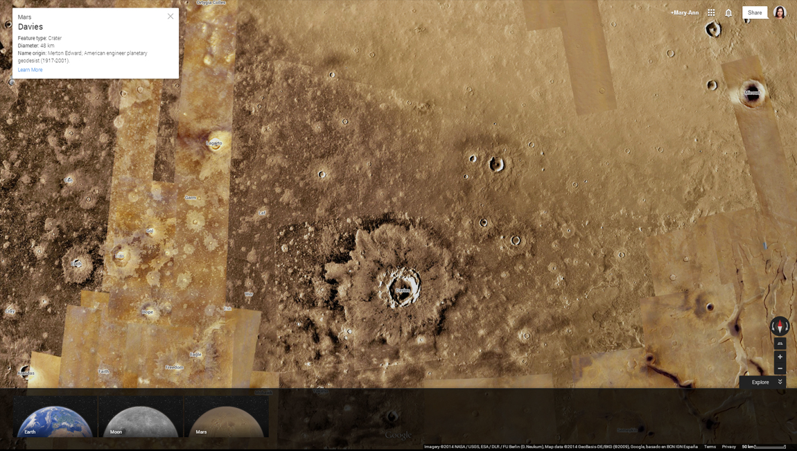 You can now see the craters of Mars in glorious high definition, perfect for hunting for an alien colony