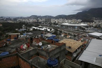 Mangueira slum in Rio de Janeiro
