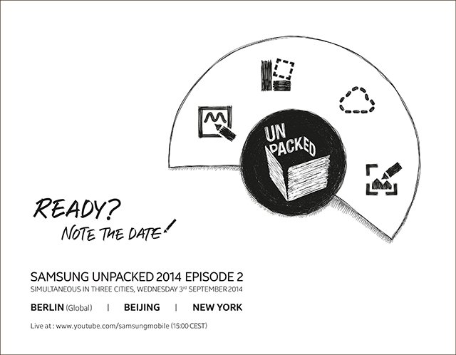 Galaxy Note 4 to Release in Week of 15 September