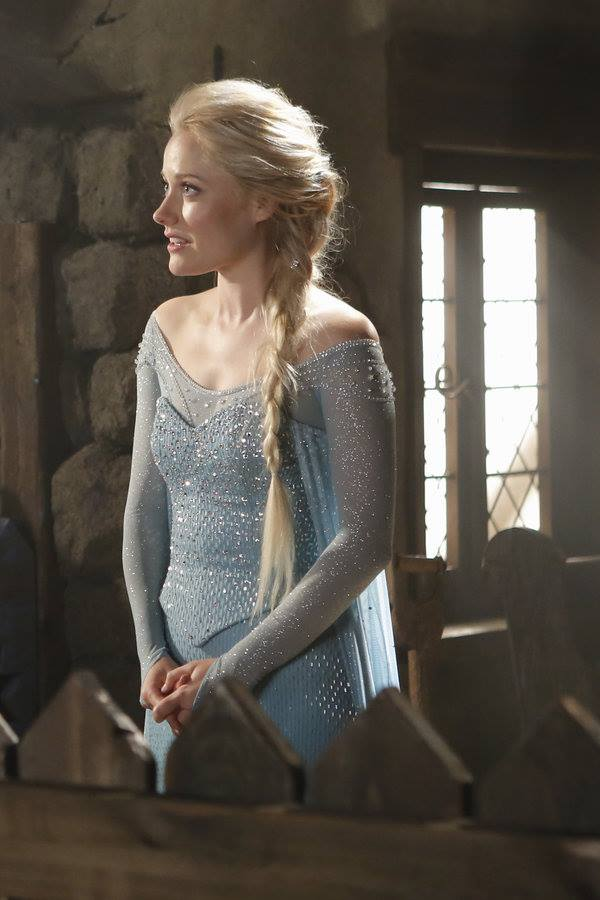 Georgina Haig in her role as Queen Elsa in Once upon a time