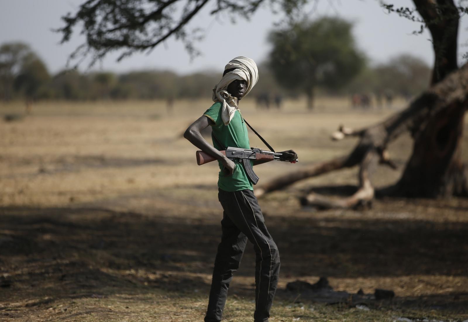 South Sudan rebel