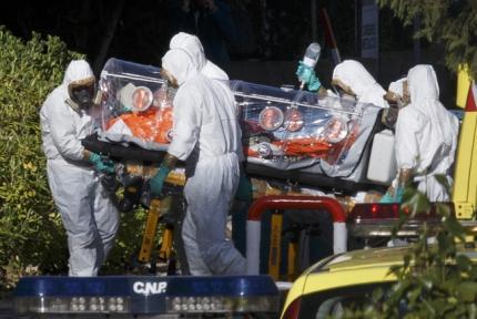 Ebola virus spread