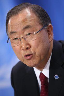 Ban Ki Moon headshot