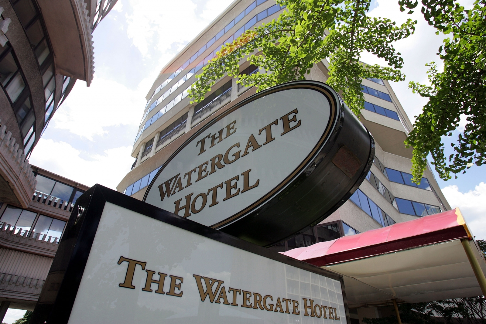 Watergate Hotel Sign