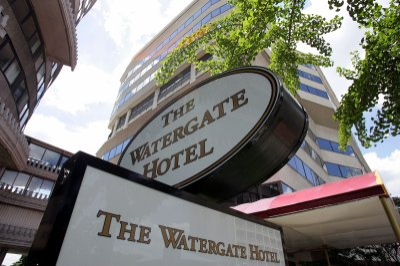 Watergate Hotel Sign