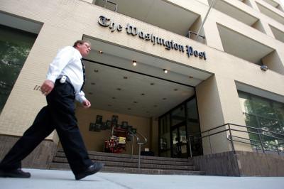 Washington Post Entrance