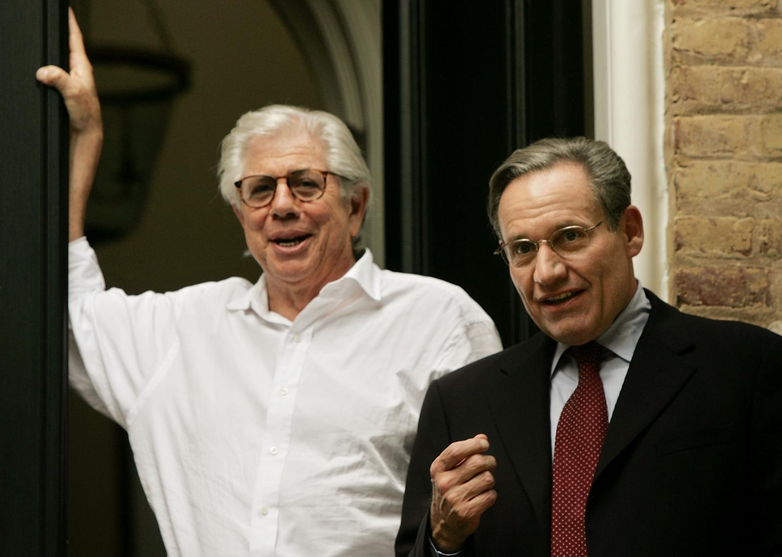 Watergate Bob Woodward and Carl Bernstein