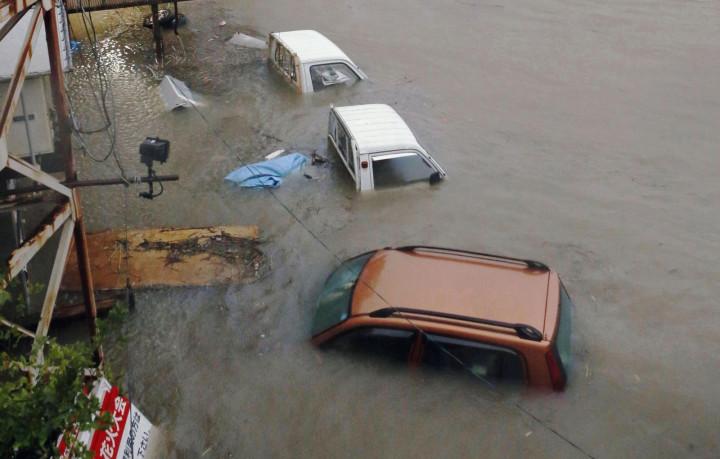 Japan Typhoon Halong