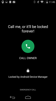 Google 'Android Device Manager' App Updated With 'Call Back' Security Feature, Available for Download