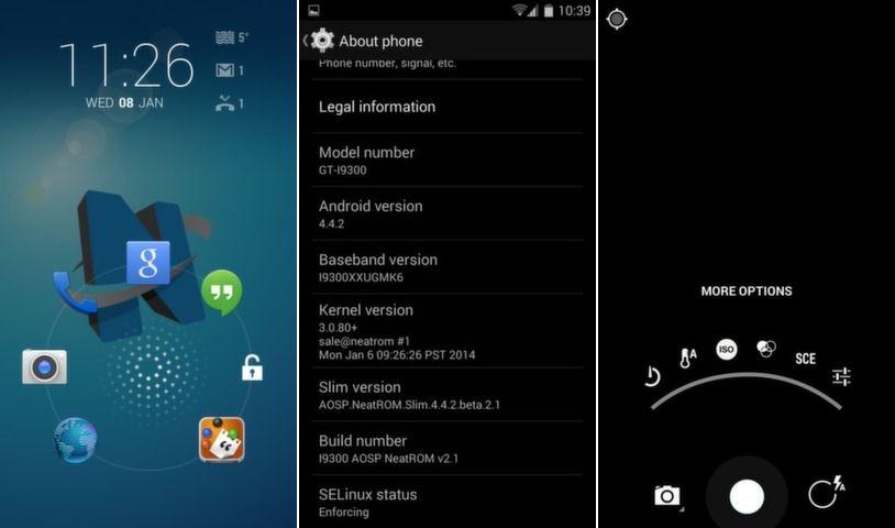 Android 4.4.4 KitKat Arrives for Galaxy S3 I9300 via NeatROM Custom ROM