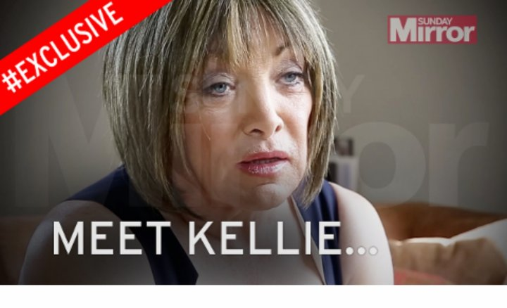 Frank Maloney, who has announced he is now living as a woman named Kellie.