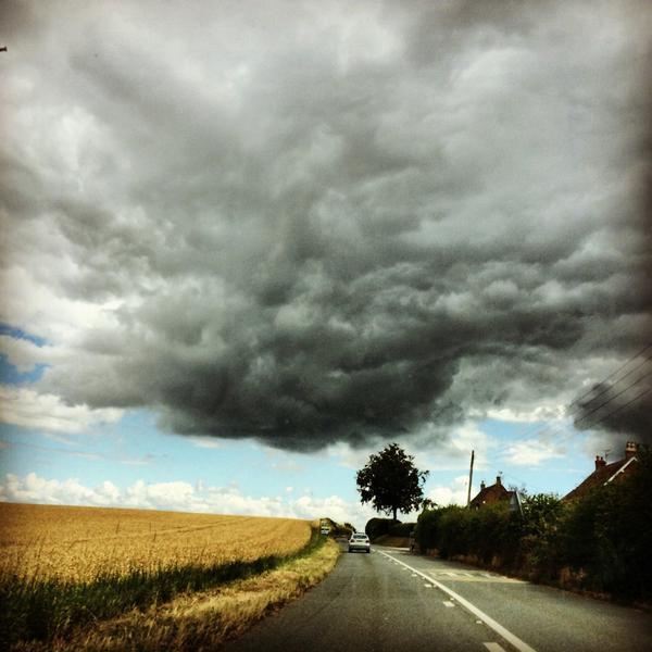 Hurricane Bertha has cause stormy weather across Britain