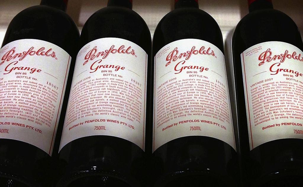 Penfolds Grange Wine Bottles