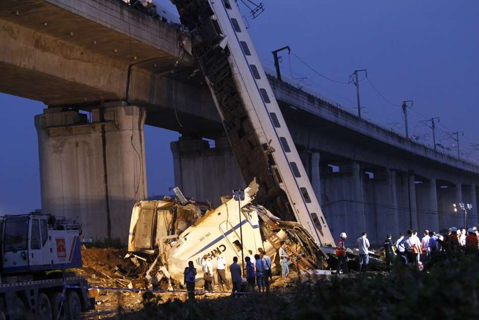 Wenzhou, China, Accident
