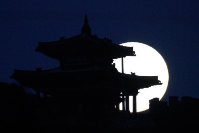 supermoon south korea