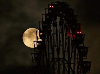 Supermoon photos