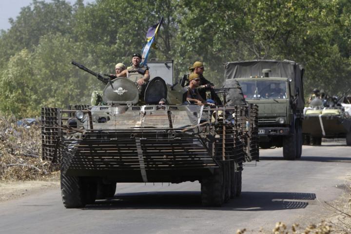 Ukraine Russia Donetsk