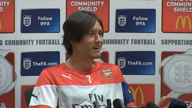 Tomas Rosicky: FA Cup Meant Most to English Boys