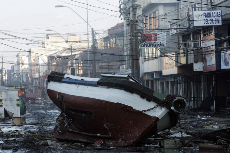 Chile earthquake 2010