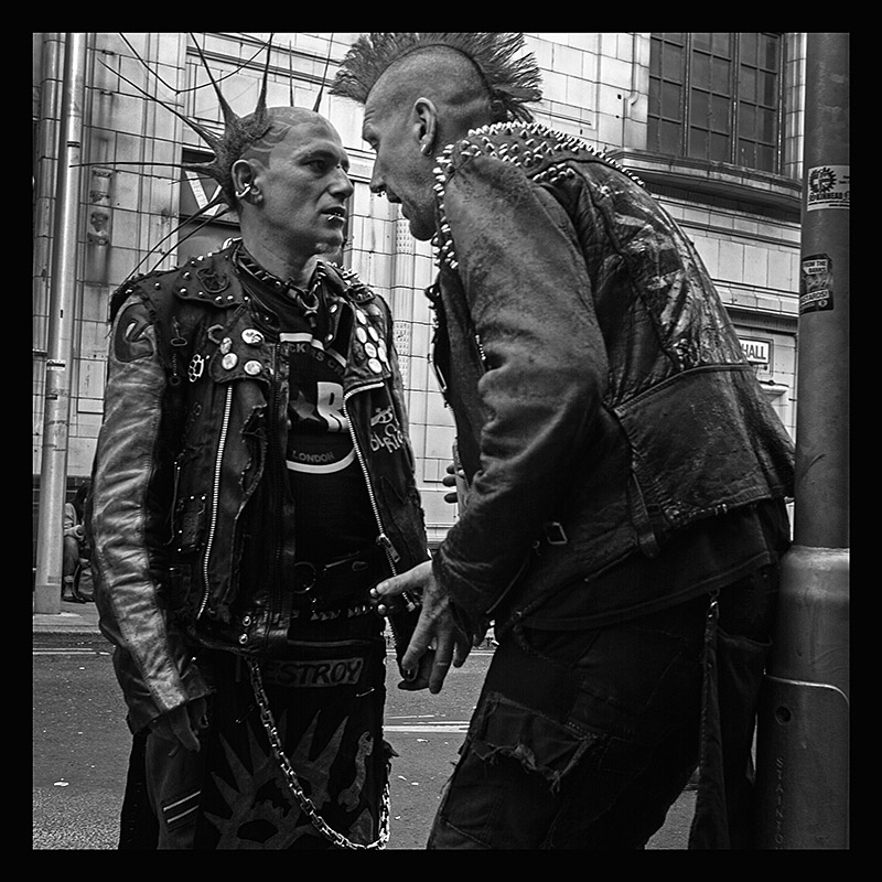 Rebellion punk festival in Blackpool