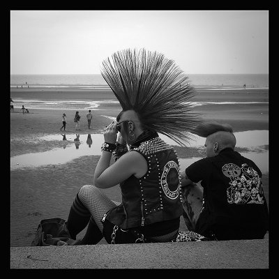 Rebellion punk festival in Blackpool