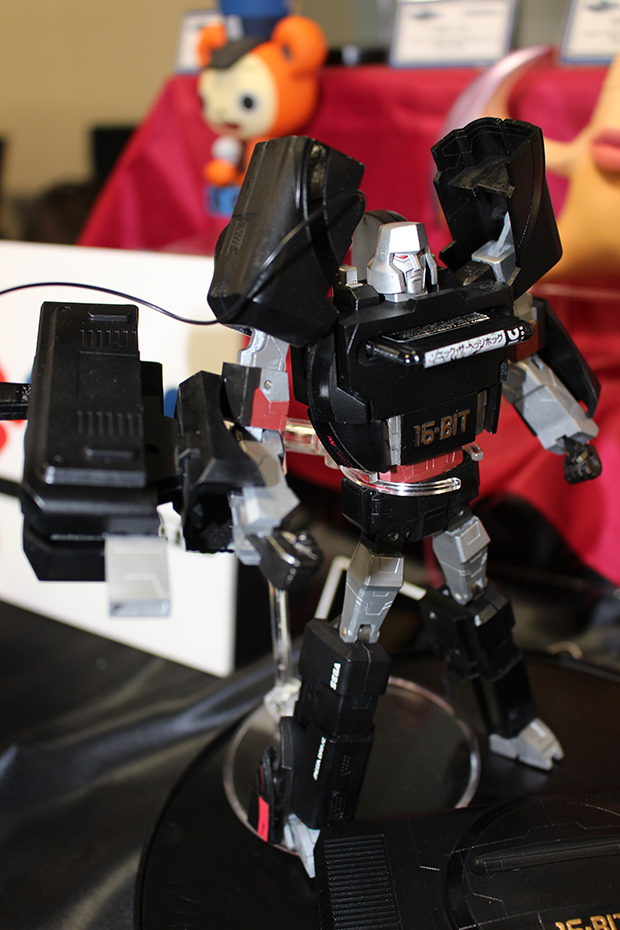 Megatron Megadrive in his robot mode, a slight modification on his usual all-grey G1 design