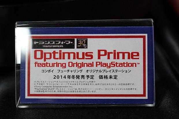 30th Anniversary Optimus Prime toy display card