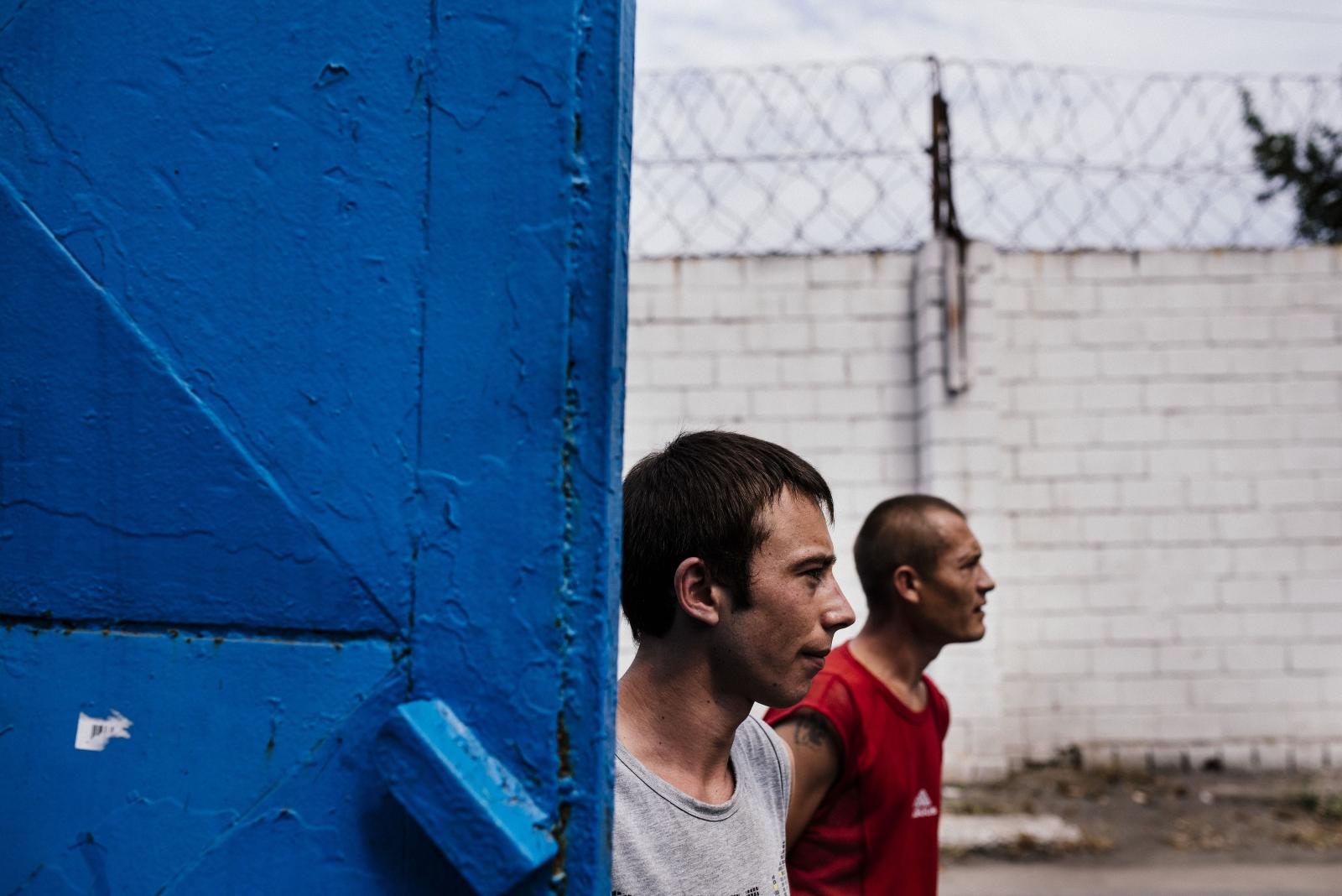 Donetsk prison escape Ukraine