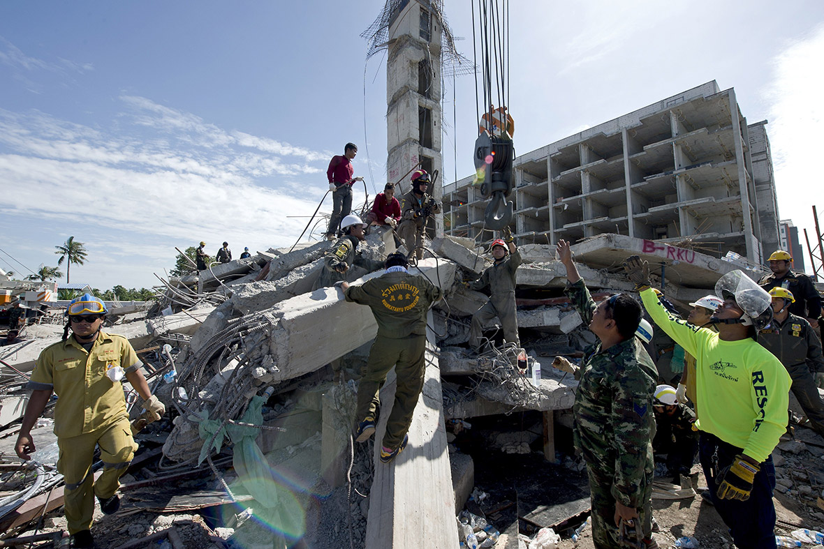 thailand building collapse