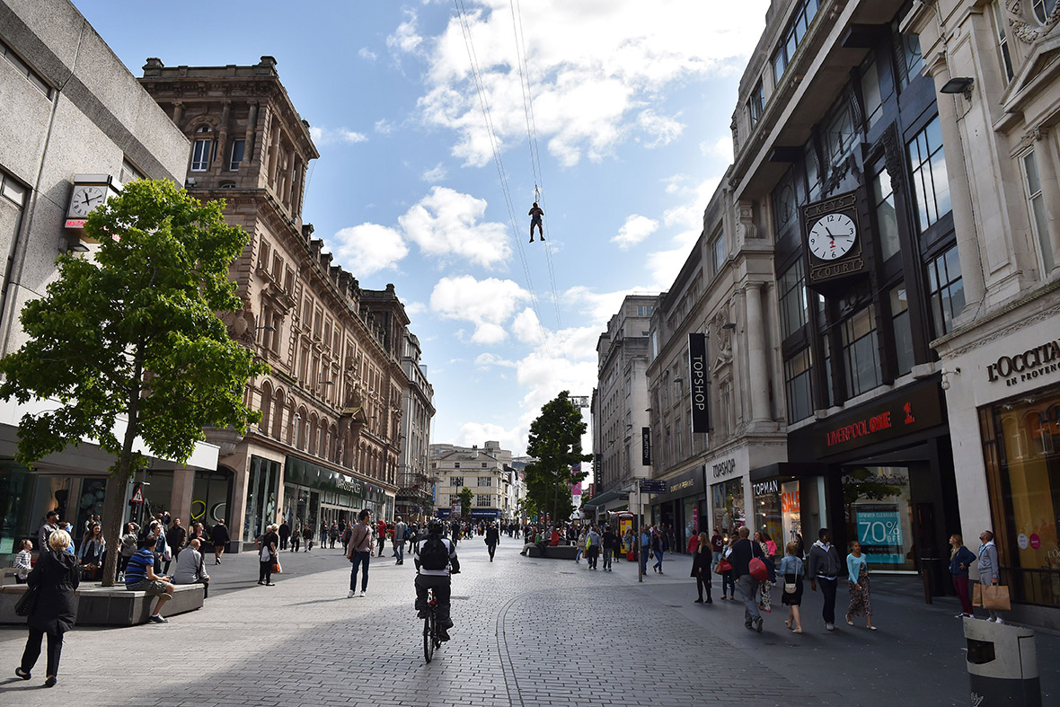 liverpool zip wire